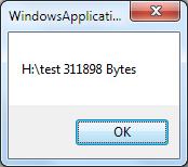 .NET 取得目录大小图五